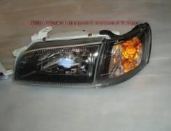 """Фары Toyota Corona (190-195). """"Черный """"хрусталь"""", новые в комплекте"""