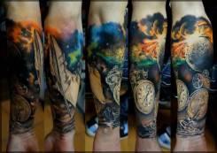 Мастер татуировки. Улица Малиновского 10