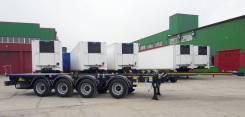 Steelbear. Полуприцеп-контейнеровоз PF-41N-6 _SAF Intra_4-х осный, 40 800кг.