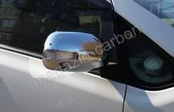 Накладка на зеркало. Toyota RAV4, ACA33, QEA42, ACA31, ZSA30, ACA38, ALA49L, ASA42, ASA44, ALA49, ZSA44, ACA36W, XA40, ZSA42, ACA38L, ACA30, ZSA35, AS...