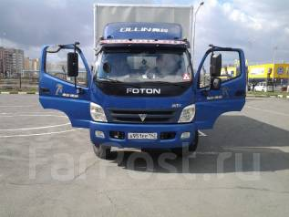 Foton. Грузовой фургон , 4 200 куб. см., 7 000 кг.