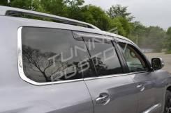 Молдинг лобового стекла. Lexus LX570, URJ201, URJ201W