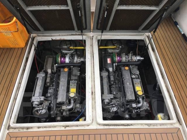 Yanmar. Год: 1996 год, длина 10,80м., двигатель стационарный, 280,00л.с., дизель
