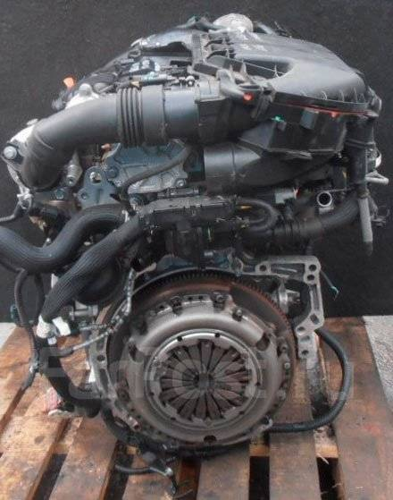 Двигатель 1.6D 9HP (DV6DTED) на Citroen комплектный