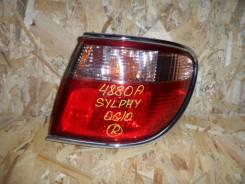 Стоп-сигнал. Nissan Bluebird Sylphy, QNG10, TG10, QG10, FG10 Nissan Sylphy Двигатели: QG18DE, QR20DD, QG15DE