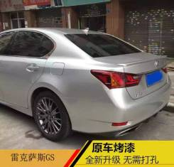 Спойлер. Lexus GS350, GRL11, GWL10, GRL15, AWL10 Lexus GS250, GWL10, GRL15, AWL10, GRL11 Lexus GS450h, GRL15, GRL11, GWL10, AWL10 Lexus GS300h, AWL10....