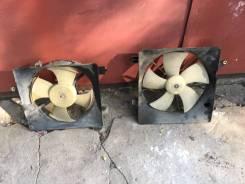 Вентилятор охлаждения радиатора. Honda Civic, UA-EU1, EU1, LA-EU2, LA-EU1 Двигатели: D15B, D16W7, D16V3, D15Y2, D16V1, D15Y3, D17A5, D14Z5, D14Z6, D17...