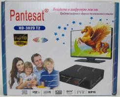 Приставка для цифрового телевидения Pantesat HD-3820 DVB-T2 черный