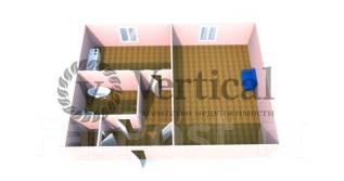 1-комнатная, улица Черемуховая 18. Чуркин, проверенное агентство, 31 кв.м. План квартиры