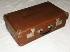 Приму в дар чемодан советский