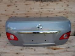 Крышка багажника. Nissan Bluebird Sylphy, G11, KG11, NG11 Nissan Sylphy Двигатели: HR15DE, MR20DE