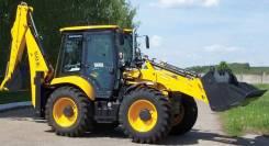 ЕлАЗ ELAZ-BL888. Продается экскаватор погрузчик на равнозначных колесах ELAZ BL 888, 0,24куб. м.