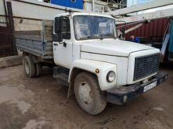 ГАЗ 3307. Грузовик Бортовой , 4 670 куб. см., 4 500 кг.