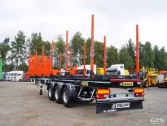 NL 13 KP, 2017. Полуприцеп-лесовоз Zaslaw NL.13, 38 000 кг.