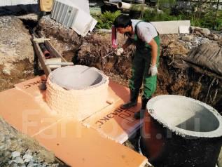 Автономная канализация, Септик, Шамбо, Кессон (расчет, установка)