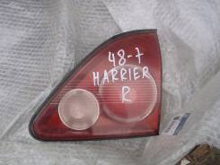 Вставка багажника. Toyota Harrier, SXU10W, SXU10