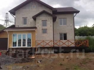 Строительные домов из бруса газобетона кирпича под ключ