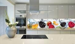 Услуги изготовления кухонного фартука. Под заказ