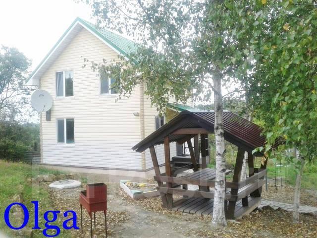 Дом, улица 3-й Ключ во Владивостоке. 3-й ключ, остановка 5-й ключ, р-н Весенняя, площадь дома 70 кв.м., скважина, электричество 10 кВт, отопление эле...