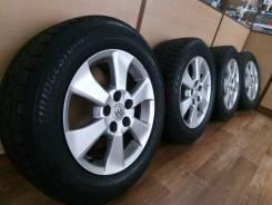 Отличный комплект колес R16 Toyota. 6.5x16 5x114.30 ET33 ЦО 60,1мм.