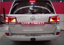LED Планка на 5-ю дверь Land Cruiser 200 2016- ( 2 Режима )в Благовещенске. Toyota Land Cruiser, URJ202W, URJ202, VDJ200 Двигатели: 1URFE, 1VDFTV