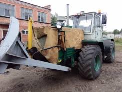 ХТЗ Т-150. Трактор Т-150 с отвалом, 12 500 куб. см.