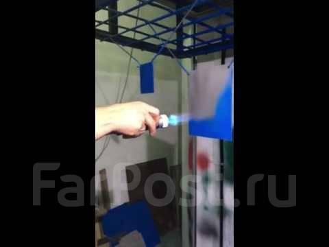 Порошковая покраска полимерная покраска, Окраска термопластом