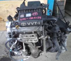 Двигатель в сборе. Toyota Vitz, SCP90 Toyota Belta, SCP92 Toyota Ractis, SCP100 Двигатель 2SZFE