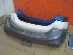 Бампер. Hyundai Solaris, HCR Двигатели: G4LC, G4FC