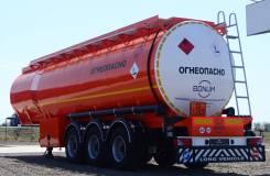 Bonum. Полуприцеп цистерна-бензовоз 28 м3 для ГСМ, новая., 25 000кг.