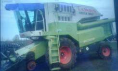 Claas Mega. Комбайн зерноуборочный 360
