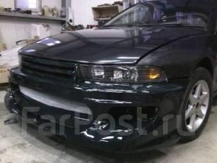 Mitsubishi Galant/Legnum бампер+решетка. Mitsubishi Legnum, EA1W, EC4W, EC5W, EC7W, EA7W, EA5W, EC1W, EA4W, EA3W, EC3W Mitsubishi Galant, EC1A, EC5A...