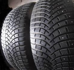Michelin Latitude X-Ice North 2. Зимние, шипованные, 2013 год, износ: 5%, 2 шт