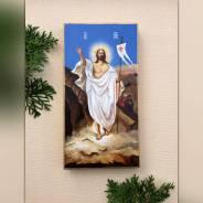 """Рукописная икона """" Воскресение Христово"""""""