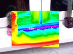 Ремонт пластиковых окон, обследование тепловизором