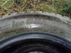 Yokohama Ice Guard. Зимние, шипованные, износ: 5%, 4 шт