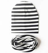 Шапка и шарф. Рост: 62-68, 68-74, 74-80, 80-86, 86-92, 92-98 см