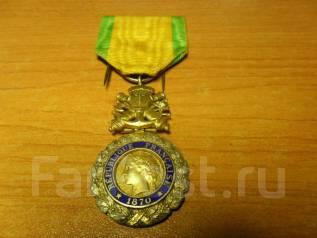 Военная медаль, «Medaille militaire» (Франция) Серебро 925