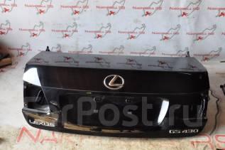 Крышка багажника. Lexus: GS450h, GS460, GS430, GS350, GS300 Двигатели: 2GRFSE, 1URFSE, 3GRFSE, 3UZFE, 3GRFE