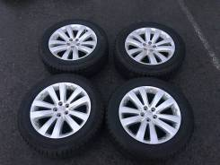 Колеса Subaru (Enkei) R17 c зимней резиной Bridgestone Blizzak Revo 2. 7.0x17 5x100.00 ET55