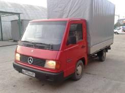 Mercedes-Benz MB100. Тентованный грузовик Mercedes -Benz (МВ-100), 2 400 куб. см., 1 000 кг.