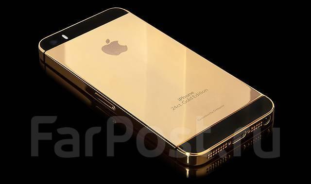 Apple iPhone 5s. Новый, 64 Гб, Желтый, Золотой