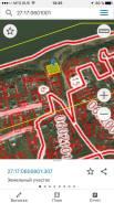 Продам участок на берегу реки, собственник!. 1 500кв.м., собственность, электричество. План (чертёж, схема) участка