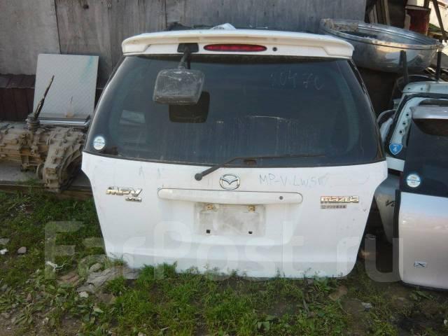 Дверь багажника. Mazda MPV, LV5W