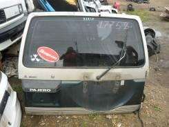 Дверь багажника. Mitsubishi Pajero, V44W, V46V, V44WG, V45W, V43W