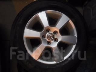 Продам колеса: японские литые диски R17 Toyota. 6.5x17 5x114.30 ET35 ЦО 60,1мм.