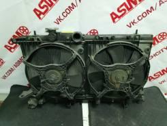 Радиатор охлаждения двигателя. Subaru Impreza, GG2, GG3