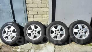 Комплект колёс 205/65 R16 зимний, резина + диски. 6.0x16 5x114.30 ET40