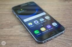 Samsung Galaxy S7. Б/у, 32 Гб, Черный, 4G LTE, Dual-SIM, Защищенный