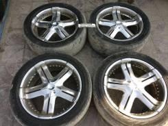 Продаю редкий комплект колёс Kaotik R22 для TLC 100-200. 9.5x22 5x150.00 ET35 ЦО 110,0мм. Под заказ